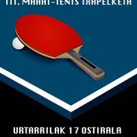 III. Mahai tenis txapelketa