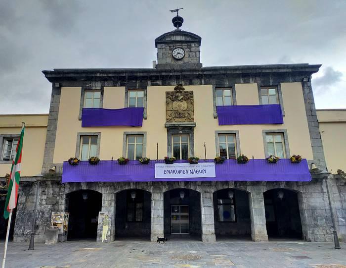 Emakumeen eguneko Adierazpen Instituzionala