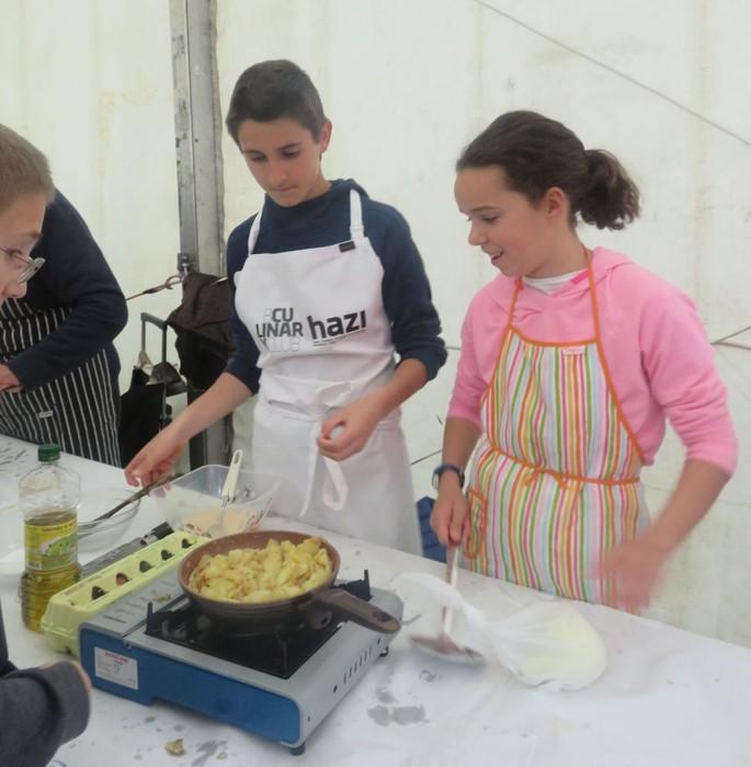 14 lehiakide, Gastronomikako tortilla patata lehiaketan - 9