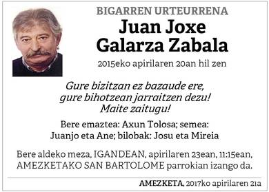 Juan Joxe Galarza Zabala