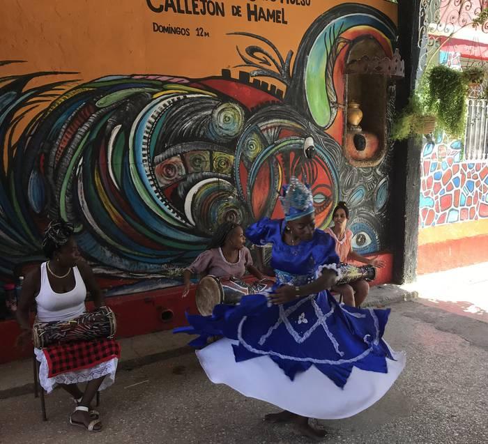 Afrikar giroa La Habanan