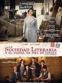 La sociedad literaria y el pastel de piel de patata, filma