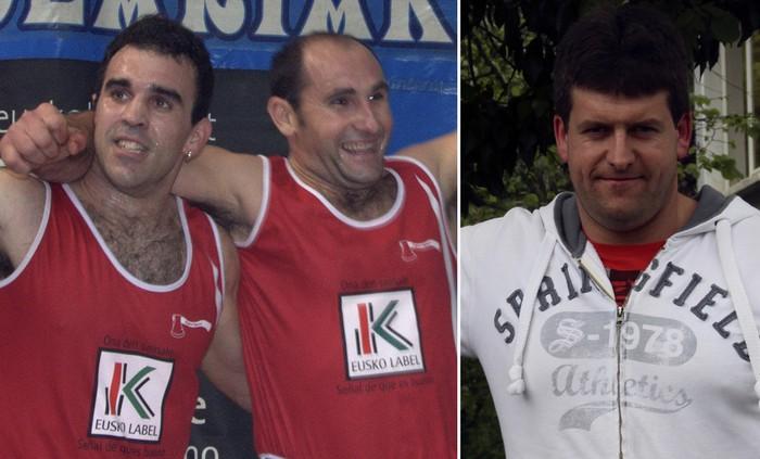 Euskal Herriko txapelaren bila, Otaño, Irazu eta Otaegi