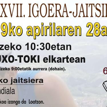XXVII. Loatzo igoera-jaitsiera