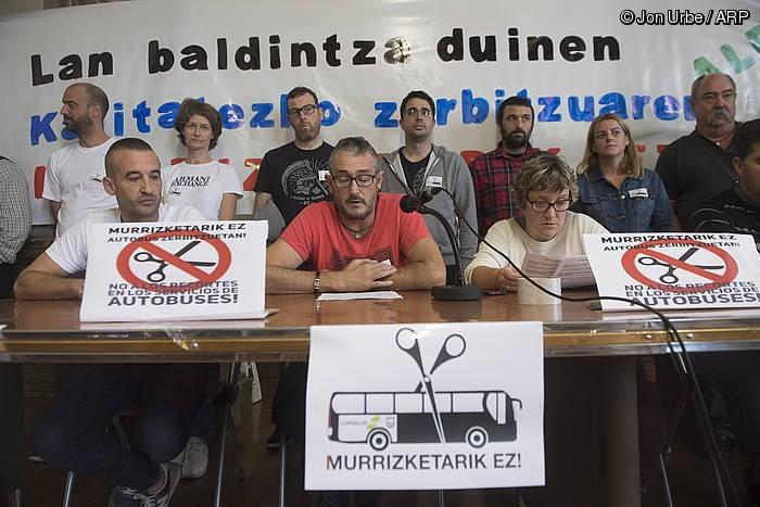 Gidariak, protestara