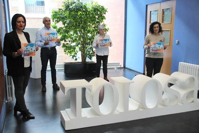 1,3 milioi euro baino gehiago, Tolosa babestu eta berpizteko