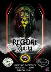 Reggae gaua Anoetako Gaztetxean