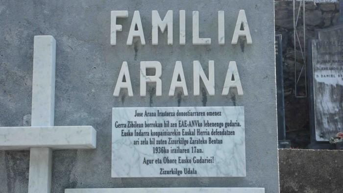 Jose Arana Irastorzaren omenaldia iruditan - 7