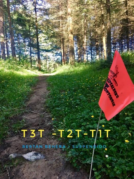 T3T mendi maratoia bertan behera geratu da