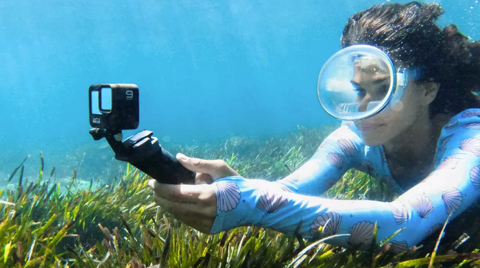 Jaso udazkeneko koloreak GoPro bikain honekin