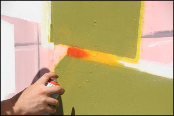 Ikasleei zuzendutako grafiti tailerra antolatu dute, Alegian