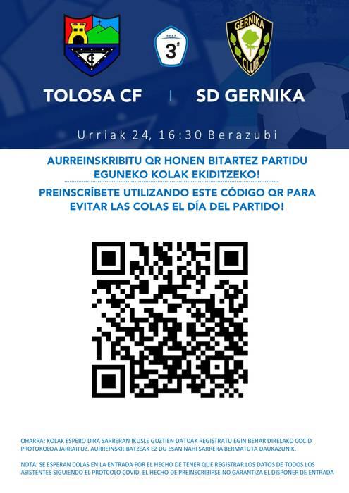 Tolosa CF - Gernika