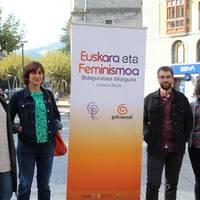 Hitzaldia: Euskara eta feminismoa: bidegurutzea elkargune