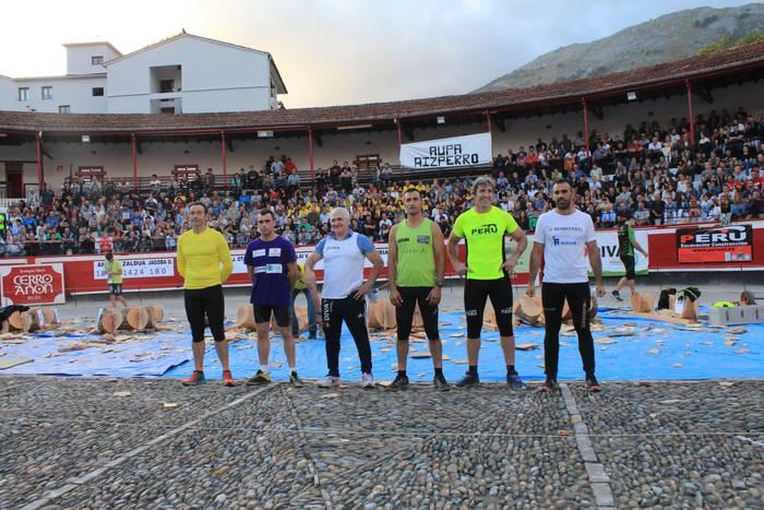 Pentatloiaren finalean izango dira Joseba Otaegi eta 'Arria V.a'