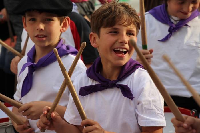 Herriko festetako haur danborradan izen emateko epea zabalik